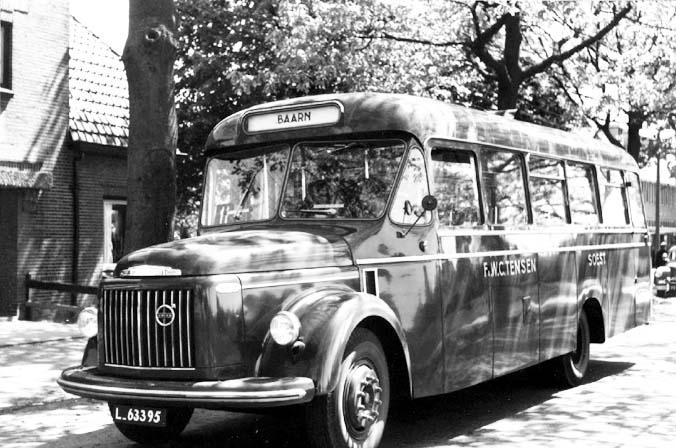 1955 Volvo Den Oudsten Neusbus Tensen lijnbus 22-Soest