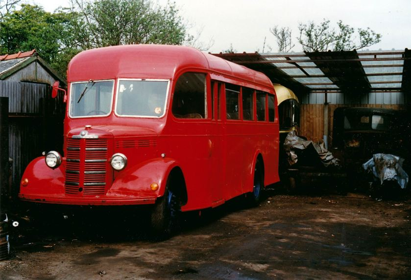 1955 Whitson bodied Austin Walsall