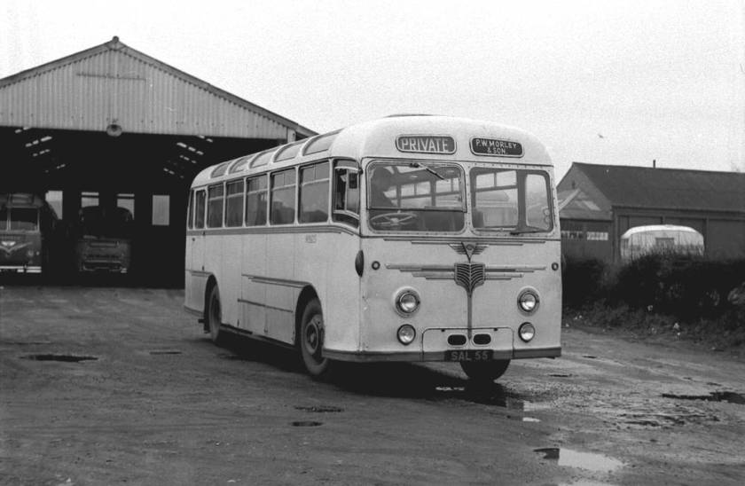 1955 Willowbrook C41F bodied AEC Monocoach
