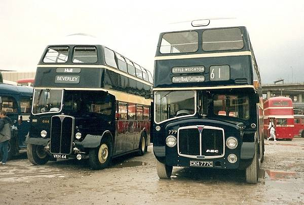 1956 AEC Regent V with Willowbrook body