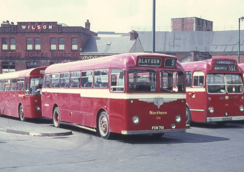 1956 AEC Reliance MU3RV with Willowbrook DP41F bodywork