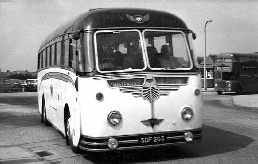 1956 AEC Reliance with Willowbrook body