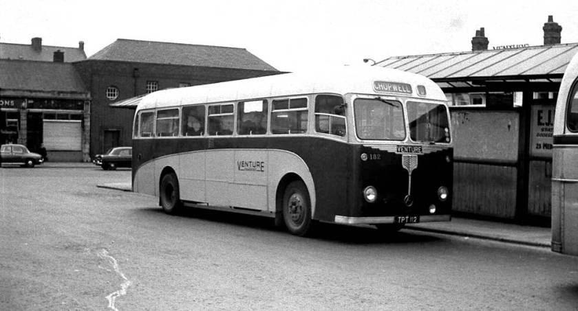 1956 Atkinson BPL745H buses bought by Venture. Like the others this had a Willowbrook body, B45F