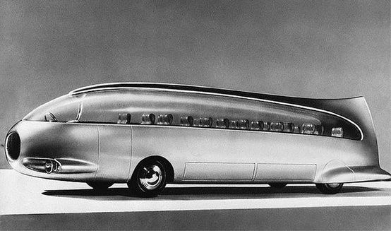 1956 Golden Dolphin Viberti, Italian gas turbine bus