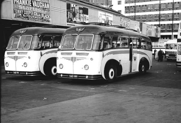 1956 Guy Arab LUFs with Willowbrook C37C bodies