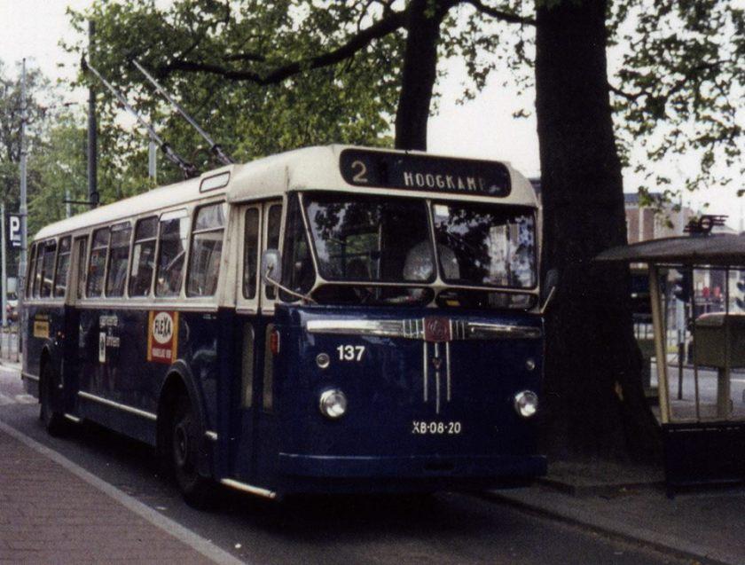 1956 GVA BUT trolleybussen bouwjaar 1956
