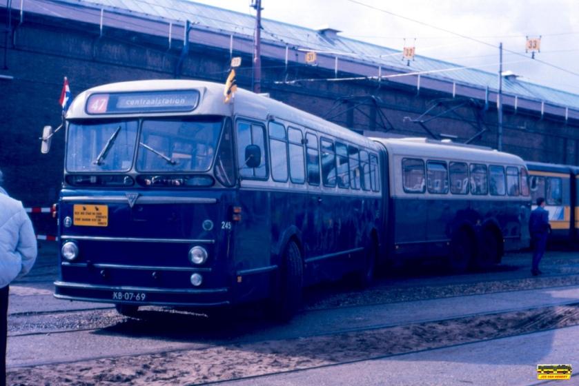 1956 GVBA AEC-Kässbohrer-Verheul 245 - Amsterdam - 30-08-1986#