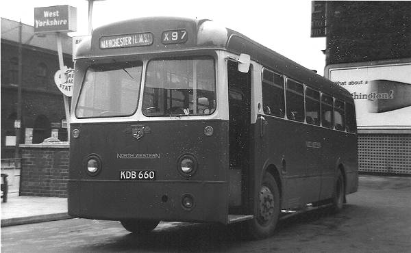 1956 Leyland Tiger Cub PSUC1-1 with Weymann B44F body