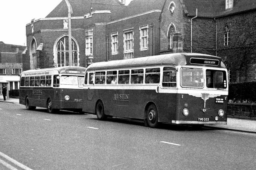 1956 Leyland Tiger Cub with Willowbrook DP41F body