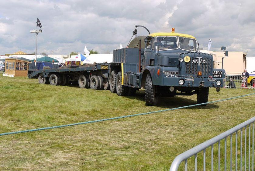 1956 RAF Thornycroft Antar Lorry - tank transporter