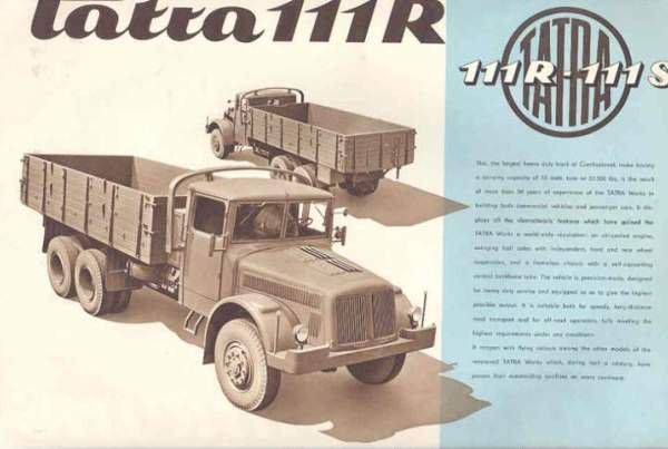 1956 TATRA 111R-S
