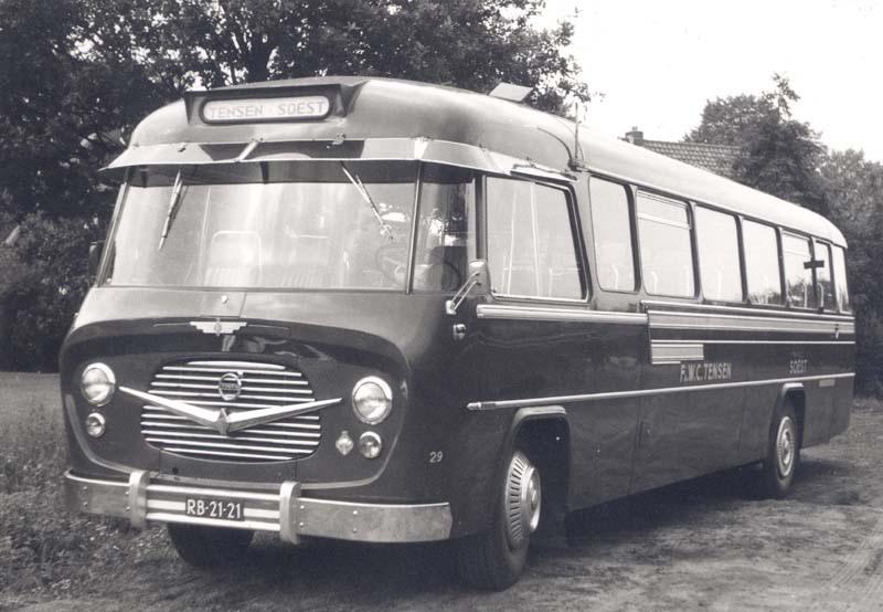 1956 Tensen Volvo B615 König RB 21 21