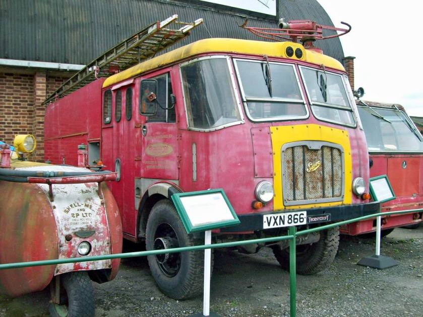 1956 Thorneycroft Nubian Minor Sun Fire-Crash Tender