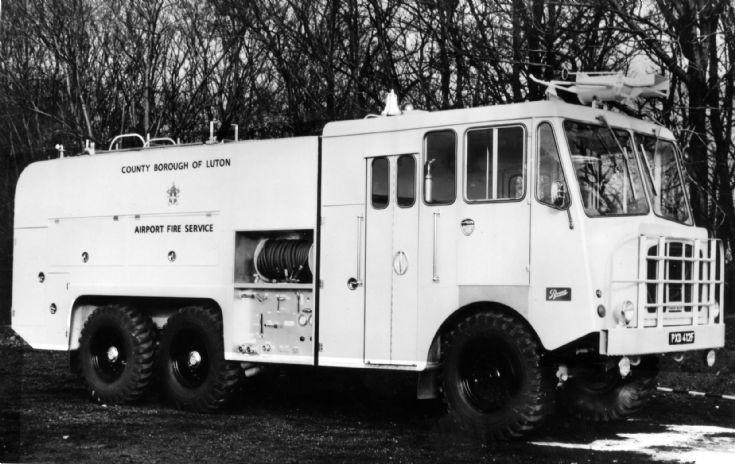 1956 Thorneycroft PXD 412F Luton