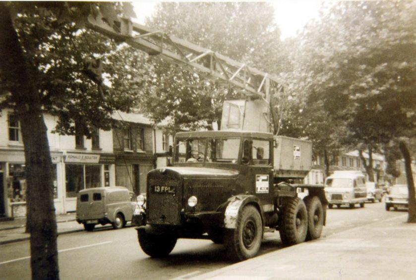 1956 Thornycroft Amazon WF swb Coles Mk7 Crane (13 FPL)