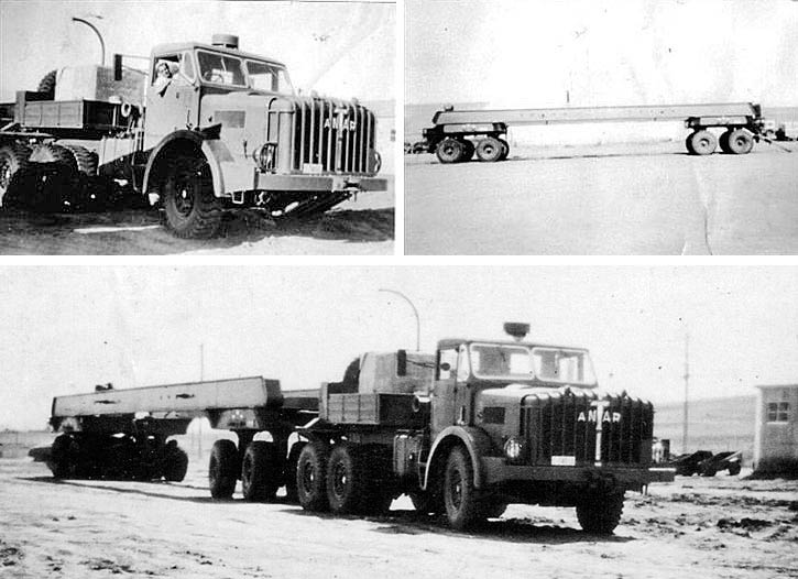 1956 Thornycroft Antar Truck, Snowy Mountains Hydro Electric Scheme