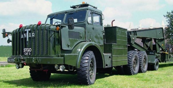 1956 Thornycroft Mighty Antar Mk-II (FV-12003), 6x6