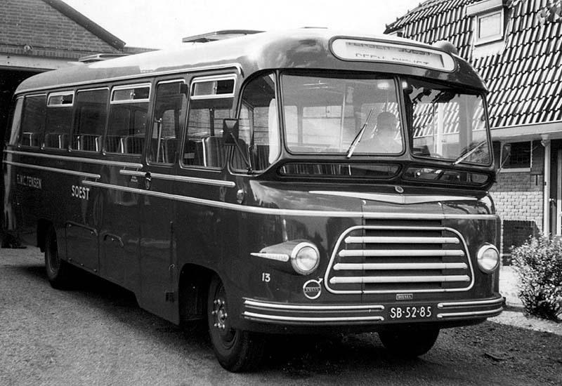 1956 Volvo BF37507 Medema SB 52 85