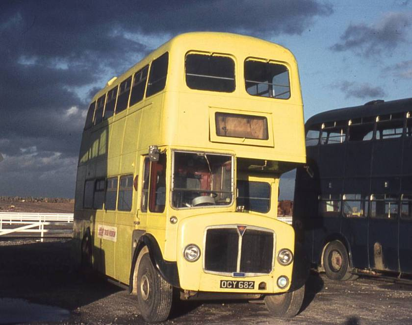 1957 AEC Regent V MD3RV with Willowbrook H32-28R bodywork