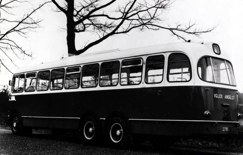 1957 DAF met Verheul opbouw Velox in Andelst