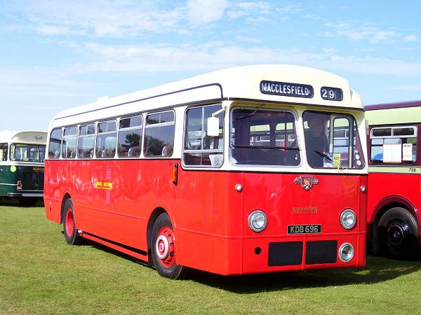 1957 Leyland PSUC1-1 with Weymann B44F body