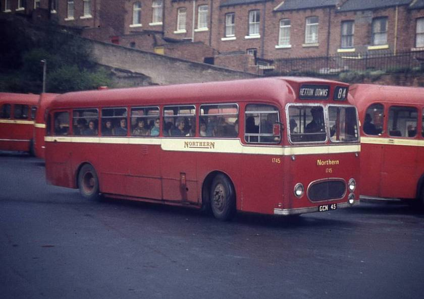 1957 Leyland Tiger Cub PSUC1-2 with Willowbrook DP41F bodywork.