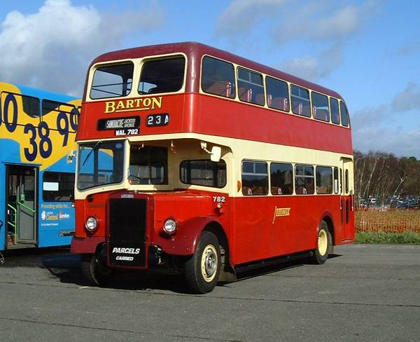 1957 Leyland Tiger PS1 single deck chassis rebuilt with a Willowbrook L61RD body