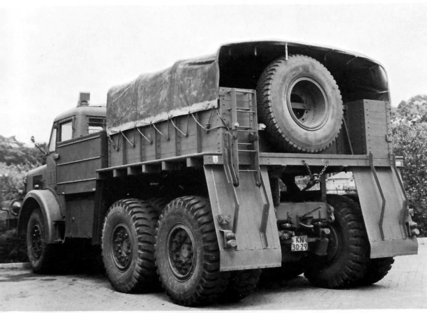 1957 Mighty Antar Truck rear