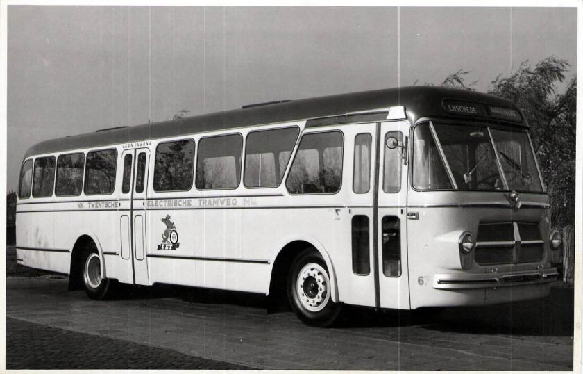 1957 Scania Vabis BF 252-B Verheul TET 67