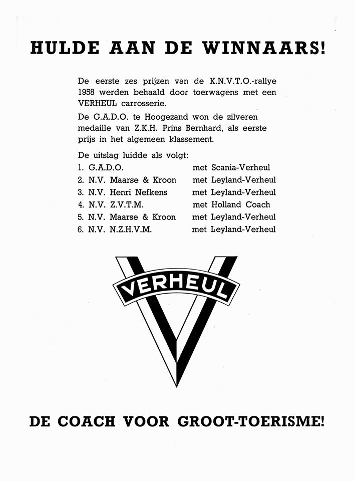 1957 Verheul Prijs