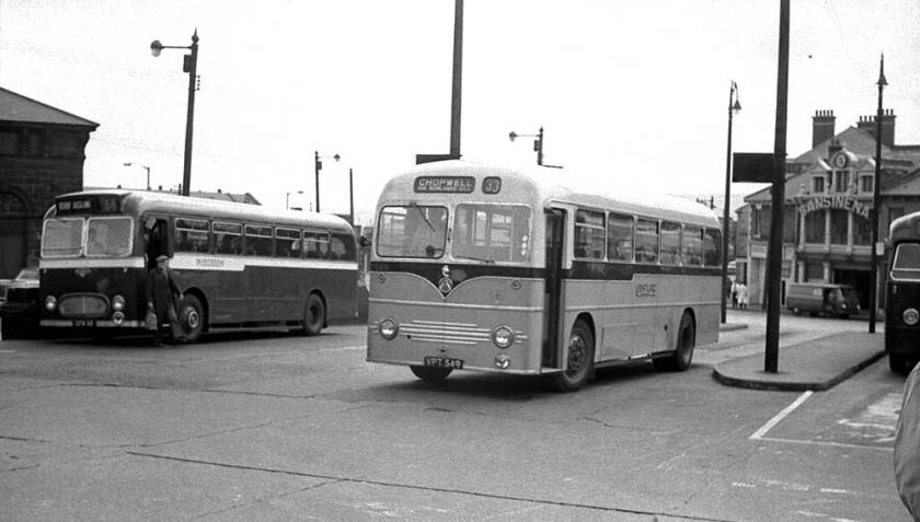 1957 Willowbrook B45F bodywork on its Atkinson BPL745H chassis
