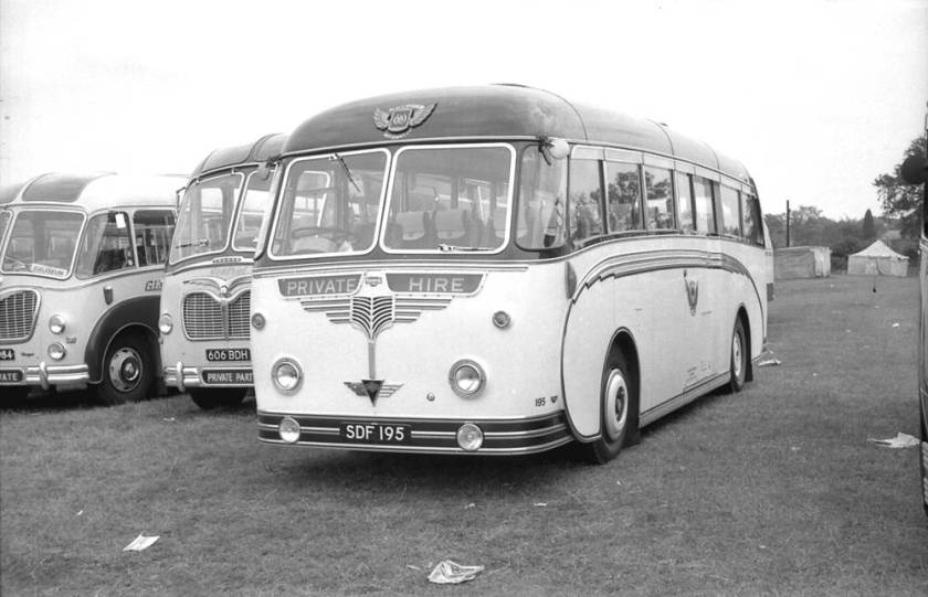 1957 Willowbrook C37C bodied AEC MU3RV Reliance