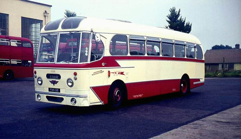 1958 AEC Reliance with Weymann C37F body