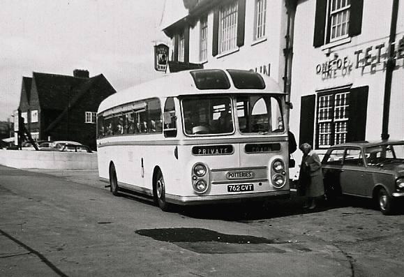 1958 AEC Reliance with Willowbrook Viking C41F bodywork