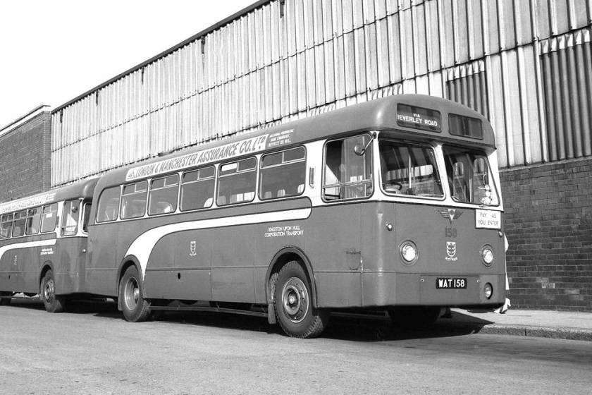 1958 AEC with a Weymann body