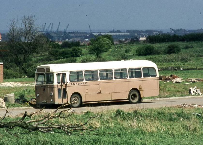 1958 Albion Aberdonian MR11 with Willowbrook B45F bodywork