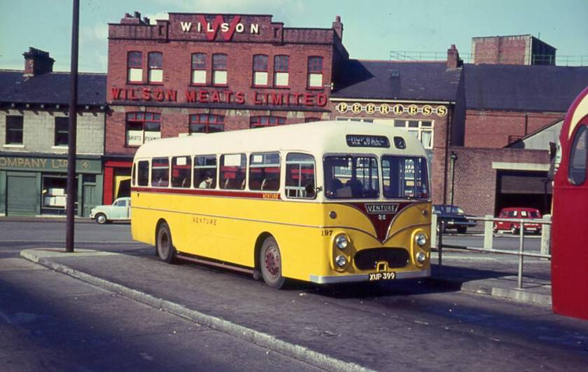 1958 Albion Aberdonian MR11N XUP399 with Willowbrook DP41F body