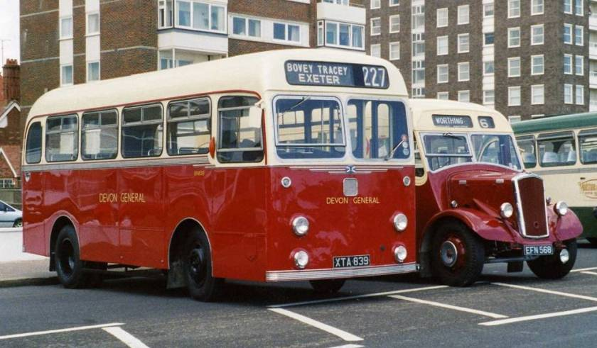 1958 Albion Nimbus NS3AN with Willowbrook B31F bodywork.