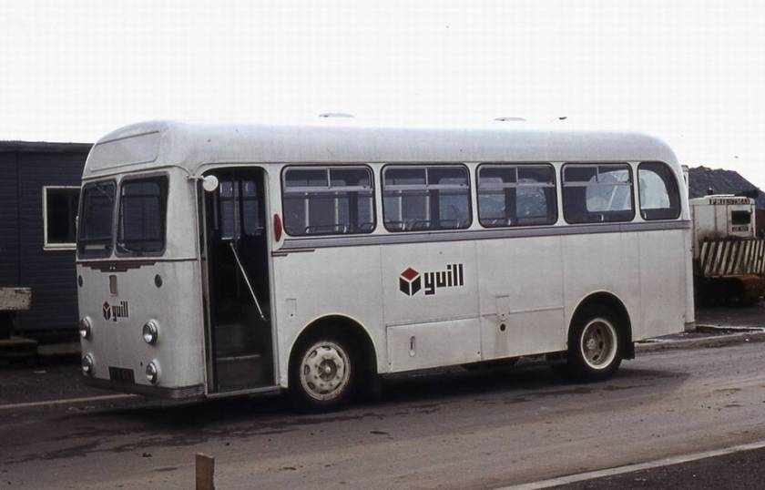 1958 Albion Nimbus NS3N with Willowbrook B31F bodywork