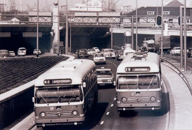 1958 Leyland 4600-5000 Werkspoor » NACO bolramers IJTunnel Amsterdam