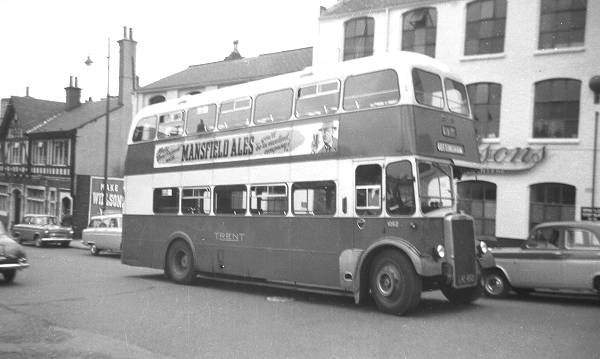 1958 Leyland PD3-4 with Willowbrook H73R body