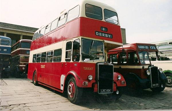 1958 Leyland Titan PD3-4 with Willowbrook body.