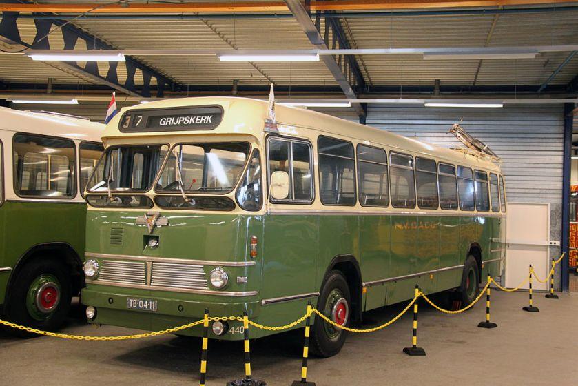 1958 Leyland Verheul GADO 4400 Huisstijl Nationaal Busmuseum