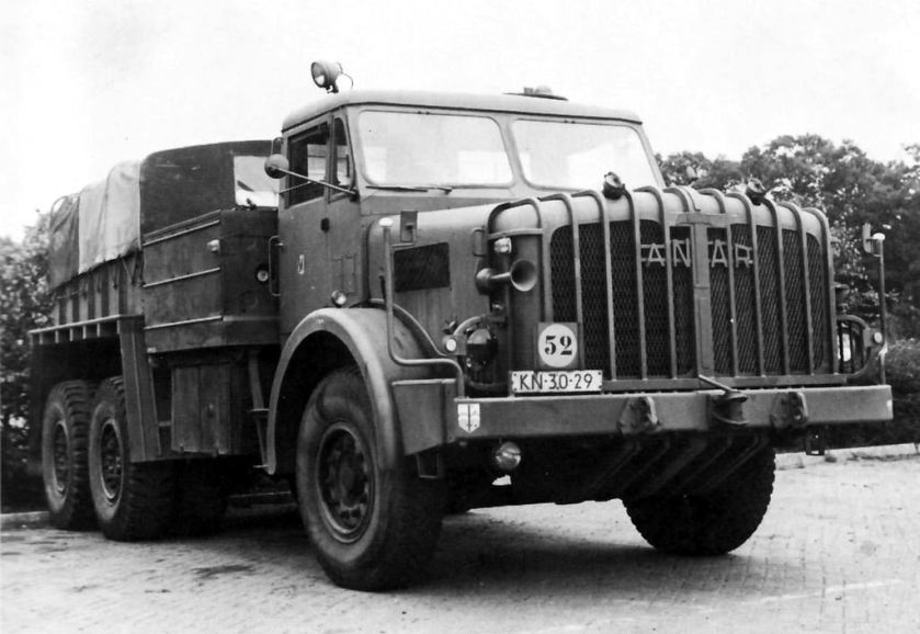 1958 Mighty Antar Truck front