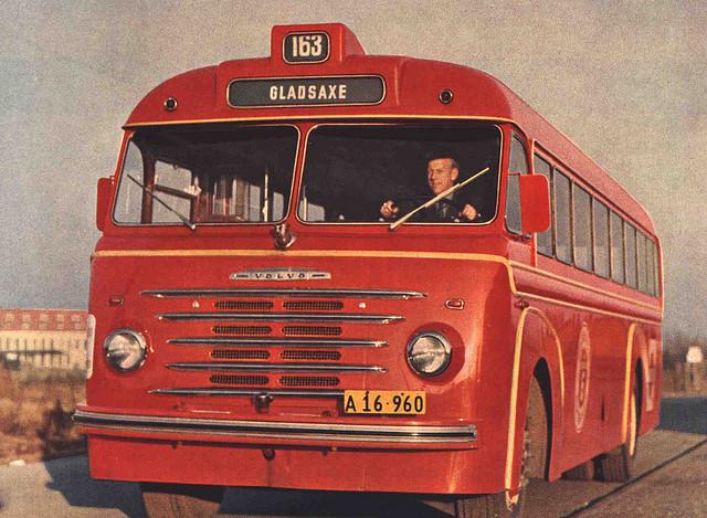 1958 VOLVO B615 Brochure Image