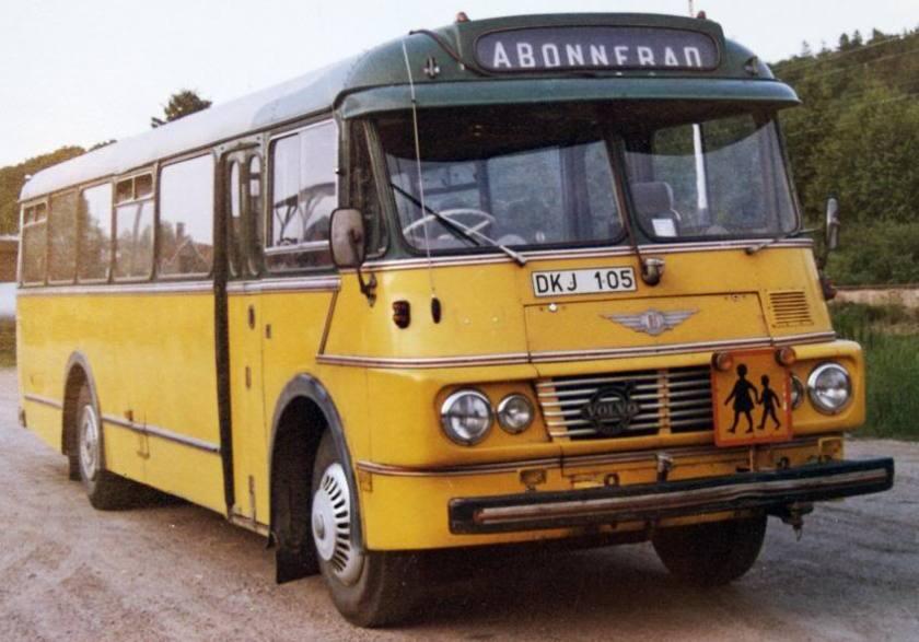 1958 Volvo B615 Bus