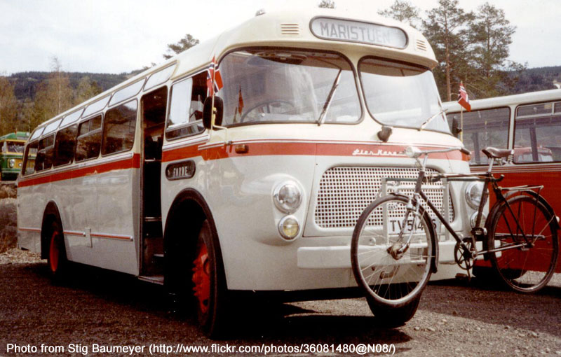 1958 Volvo B615