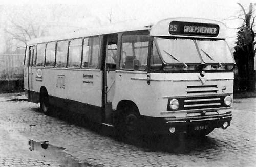 1958 Volvo-Verheul, 43 zitplaatsen, in dienst tot 1972 Schutte37