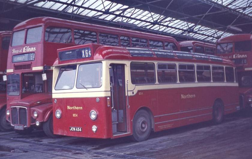 1959 A E C Reliance 2MU3RV with Willowbrook C37F bodywork