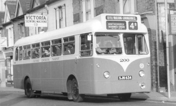 1959 Albion Aberdonians with Weymann body